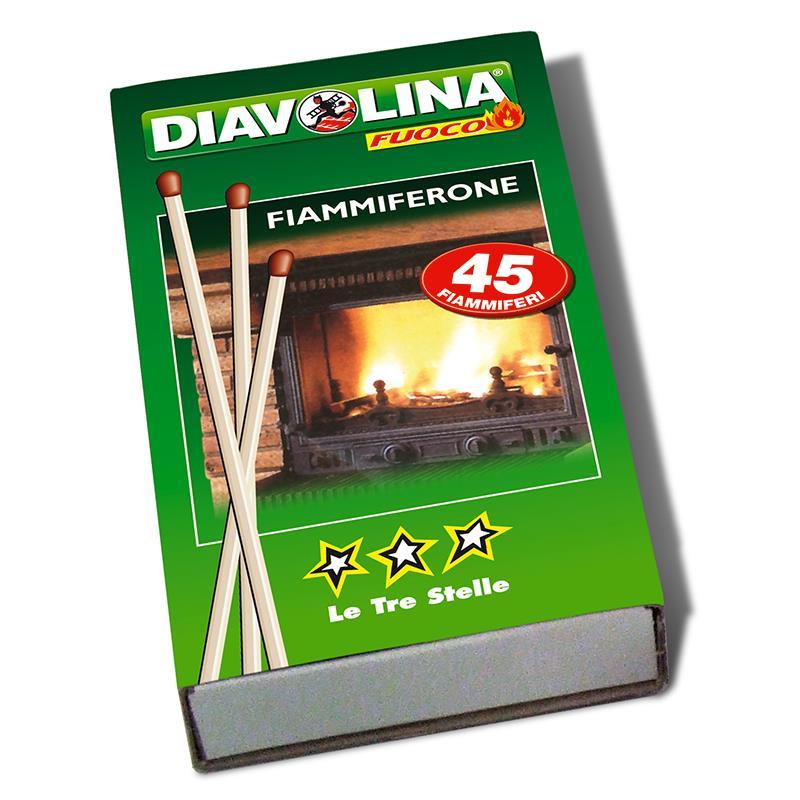 DIAVOLINA LE TRE STELLE FIAMMIFERONE  PZ 45