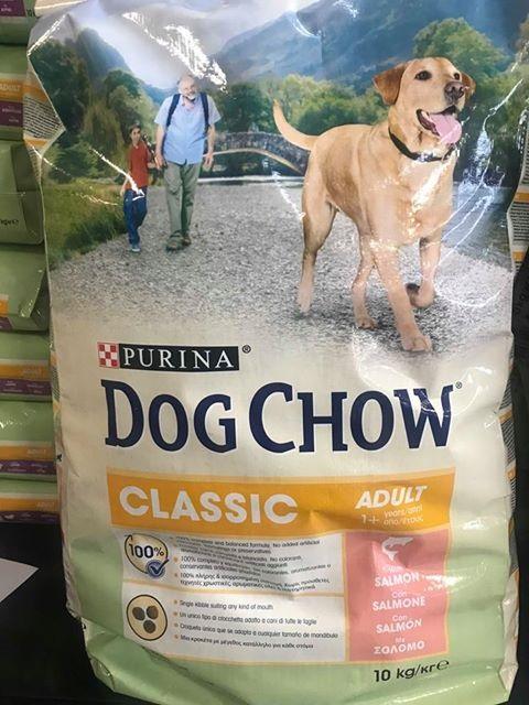 DOG CHOW CLASSIC SALMONE Kg 10
