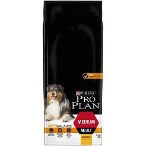 PROPLAN ADULT MEDIUM OPTIBALANCE  POLLO KG.14