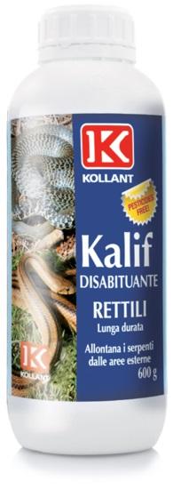 KALIF DISABITUANTE PER RETTILI GRANULARE  g 600