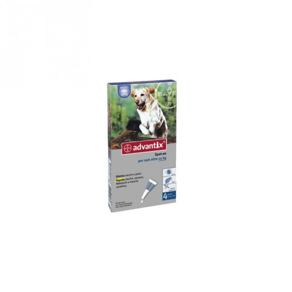 ADVANTIX CANI 25-40 KG SPOT-ON 4 PIPETTE