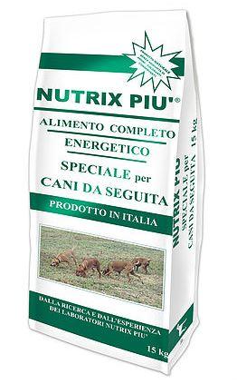 NUTRIX PIU' CANI DA SEGUITA kg 15
