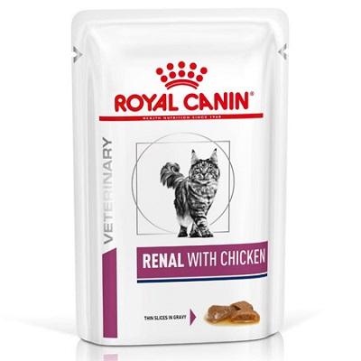 ROYAL CANIN CAT RENAL POLLO  BUSTA GR 85