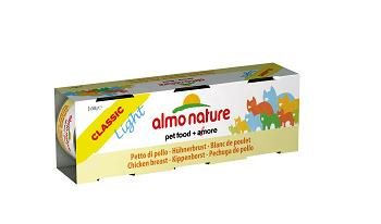 ALMO CLASSIC LIGHT CATS 3X50G PETTO DI POLLO