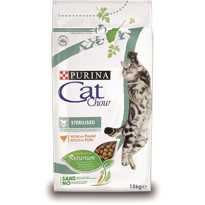 CAT CHOW STERILIZED KG.1,5