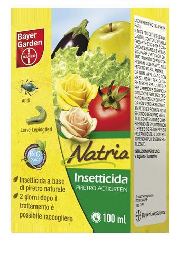 INSETTICIDA ABBATTENTE A BASE DI PIRETRO NATURALE ACTIGREEN 100 ml