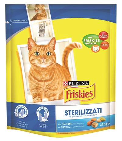 FRISKIES CROCC.GATTO NEUTERED GR.375
