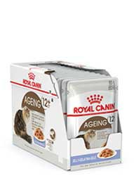 AGEING CAT +12 JELLY GR.85 BUSTA ROYAL CANIN
