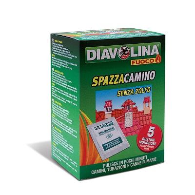 DIAVOLINA SPAZZACAMINO BUSTINE 5 PZ