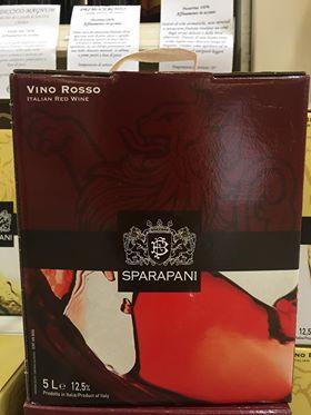 BAG BOX LT.5 VINO ROSSO FRATI BIANCHI