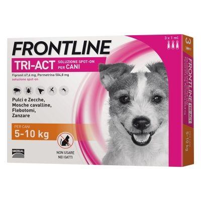 FRONTLINE TRI-ACT SPOT-ON  CANE TAGLIA S 5-10 KG