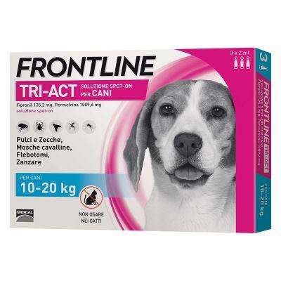 FRONTLINE TRI-ACT SPOT-ON CANE TAGLIA M 10-20 KG