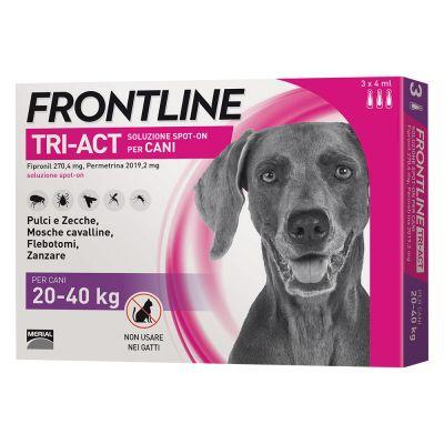 FRONTLINE TRI-ACT SPOT-ON CANE TAGLIA  20-40 KG