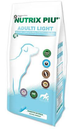 NUTRIX PIU' ADULT LIGHT KG.10