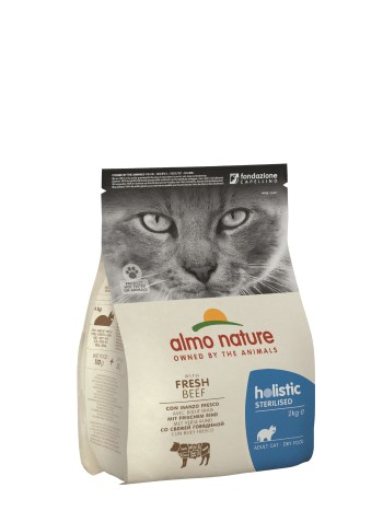 ALMO FUNCTIONAL STERILISED CAT KG.2 MANZO E RISO