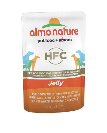 ALMO HFC JELLY DOG G.70 POLLO CON CAROTE
