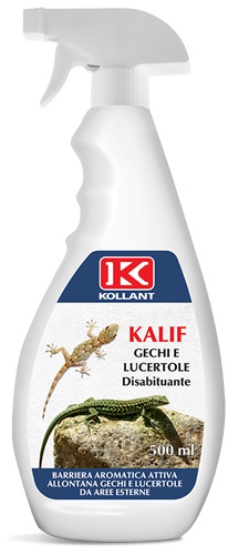KALIF DISABITUANTE PER GECHI E LUCERTOLE 750 ML