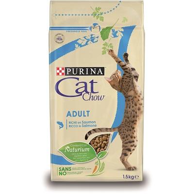 CAT CHOW ADULT SALMONE TONNO KG.1,50