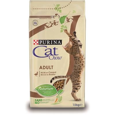 CAT CHOW ADULT ANATRA KG.1,5