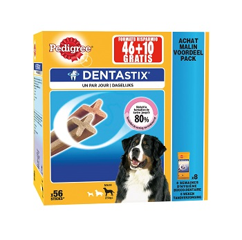 PED DENTASTIX MULTIPACK LARGE X56