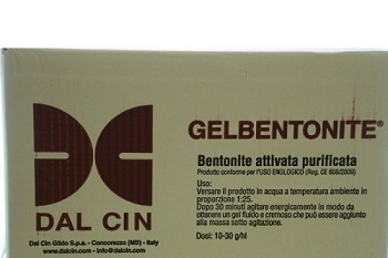 GELBENTONITE DC+5 KG 1 PER CHIARIFICAZIONE