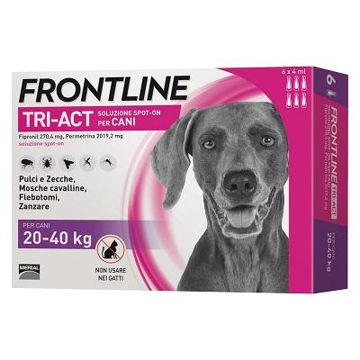 FRONTLINE TRI-ACT CANE 20-40 KG 6 PIPETTE