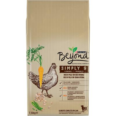 BEYOND SIMPLY 9 DOG KG.7,50 POLLO CON ORZO INTEGRALE