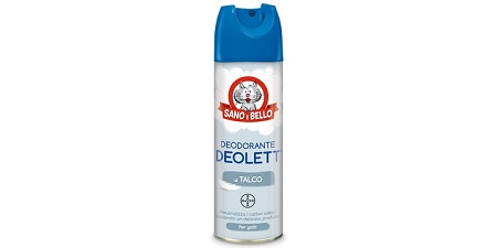 DEODORANTE LETTIERA DEOLETT BAYER 200 ML