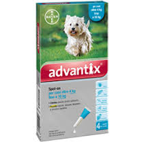 ADVANTIX CANI 4-10 KG 1 PIPETTA