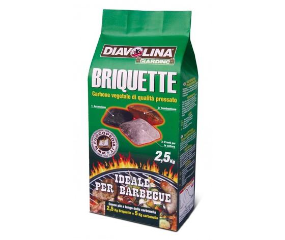 DIAVOLINA BRIQUETTE KG.2,5