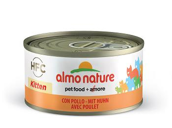 ALMO CATS 70G KITTEN CON POLLO