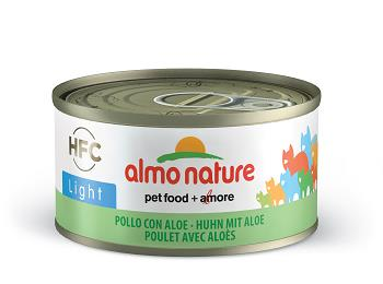 ALMO CATS 70G LIGHT POLLO CON ALOE