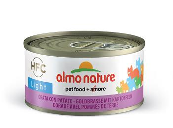 ALMO CATS 70G LIGHT ORATA CON PATATE