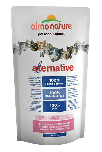 ALMO ALTERNATIVE CATS 750G SALMONE FRESCO