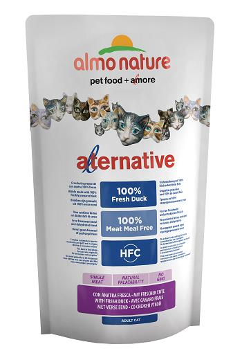 ALMO ALTERNATIVE CATS 750G ANATRA FRESCA