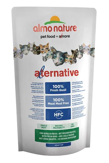 ALMO ALTERNATIVE CATS 750G QUAGLIA FRESCA