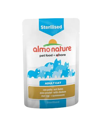 ALMO PFC DAILY FUNCTIONAL CAT 70G STERLISED POLLO