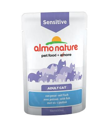 ALMO PFC DAILY FUNCTIONAL CAT 70G SENSITIVE PESCE