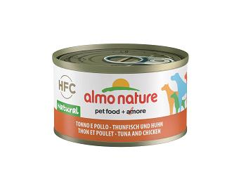 ALMO HFC NATURE DOG G 95 TONNO E POLLO