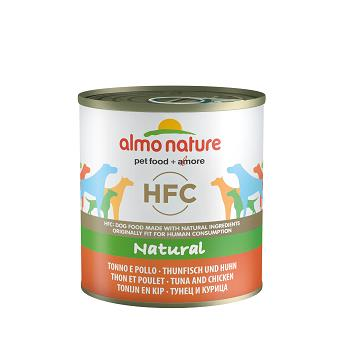 ALMO HFC NATURAL DOGS 290G TONNO E POLLO