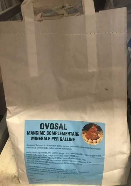 MANGIME COMPLEMENTARE MINERALE PER GALLINE OVOSAL kg 5