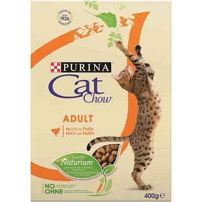 CAT CHOW ADULT POLLO GR.400
