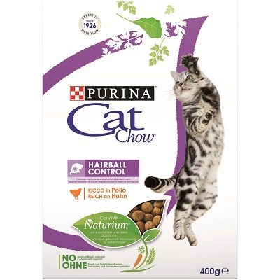 CAT CHOW HAIRBALL CONTROL 400 G
