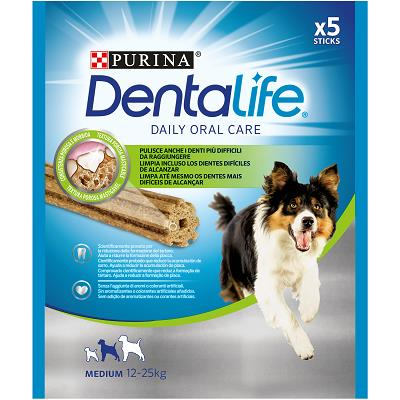 DENTALIFE TAGLIA MEDIUM BUSTA 5 STICK 115 G