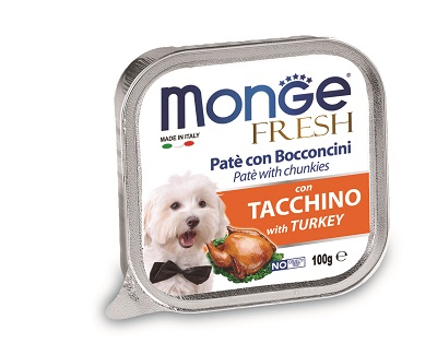 MONGE DOG FRESH 100G