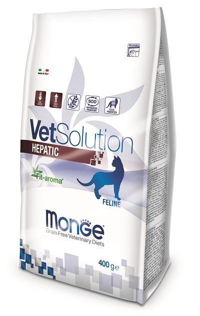 MONGE VET SOLUTION CAT G 400 HEPATIC