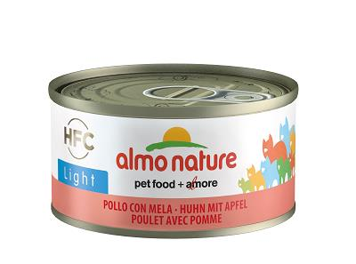 HFC ALMO NATUTE LIGHT CATS GR.70 POLLO E MELA