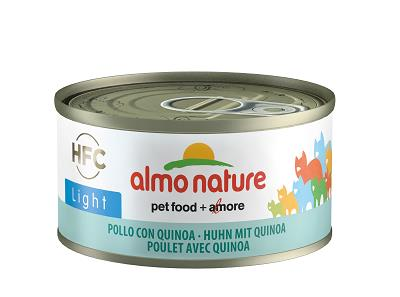 ALMO NATURE LIGHT CATS GR.70 POLLO E QUINOA