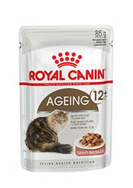 AGEING CAT +12 GRAVY G 85 BUSTA ROYAL CANIN
