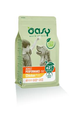 OASY DRY DOG ADULT PERFORMANCE 3 KG